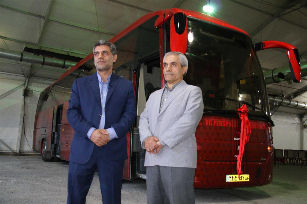 Unveiling and Delivery of F.C. Persepolis VIP Bus